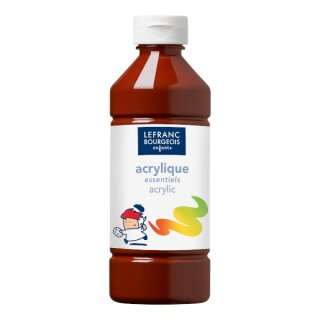 Acrylfarbe Liquid-Acrylic von ColArt Braun 500 ml