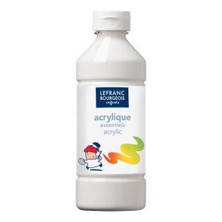Acrylfarbe Liquid-Acrylic von ColArt Weiß 500 ml