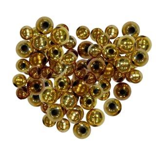 Metallicperlen Set, 250 g Gold-Mix
