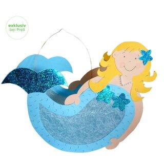 Laternen Bastelset Meerjungfrau, 4 Stück