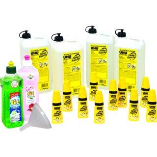 UHU Paket flinke Flasche mit Lösungsmittel GRATIS: Fit Spülmittel