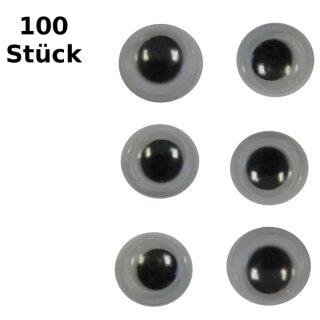 Wackelaugen D: 18 mm 100 Stück