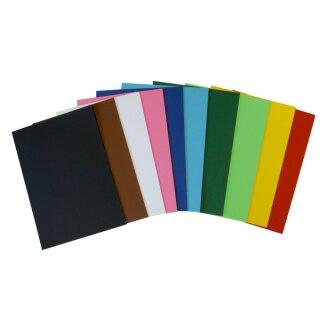 Tonzeichenpapier DIN A3, 250 Blatt in 10 Farben sort., 160 g/qm