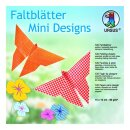 "Faltblätter ""Mini Designs"" 15 x 15 cm, 120..."