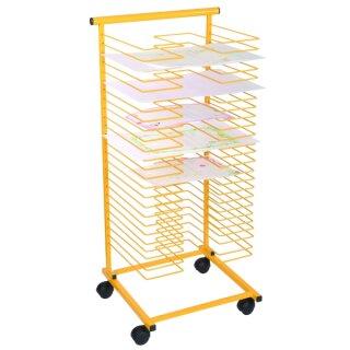 Papiertrockenständer gelb 42,5 x 41 x 98 cm von Eduplay