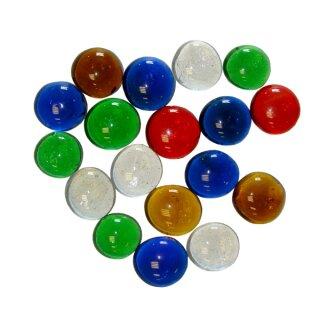 Mischpackung Glasnuggets 500 g, in 5 versch. Farben