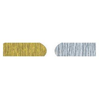 Krepppapier gold 1 Rolle, 50 x 250 cm