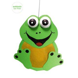 Laternen Bastelset Frosch, 5 Stück