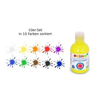 Textilfarbe Primo 10 Flaschen