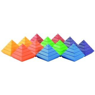Pyramidenbausatz von Eduplay. Lieferbar Ende Mai