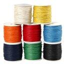 Baumwollband 8er-Set 8 Farben á 40 m, 1 mm